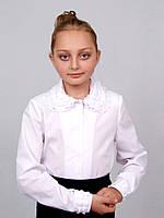 Блузка детская для девочек школьная М-916 рост 140 146