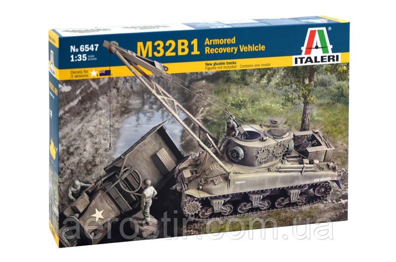 M32B1 Armoured Recovery Vehicle 1/35  Italeri 6547