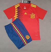 Детская футбольная форма сборной Испании домашняя 2018-20