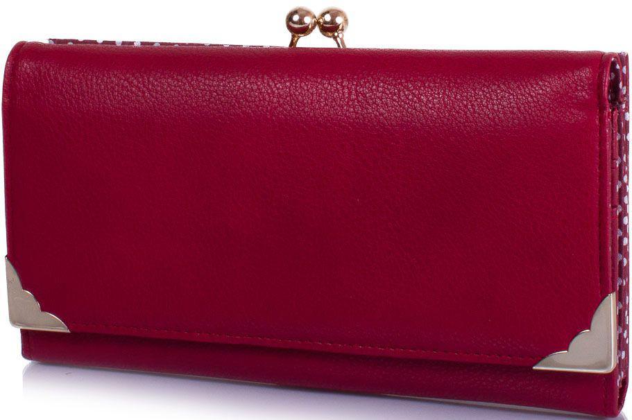 Гаманець жіночий AMELIE GALANTI A1005-red, кожезам, темно-червоний