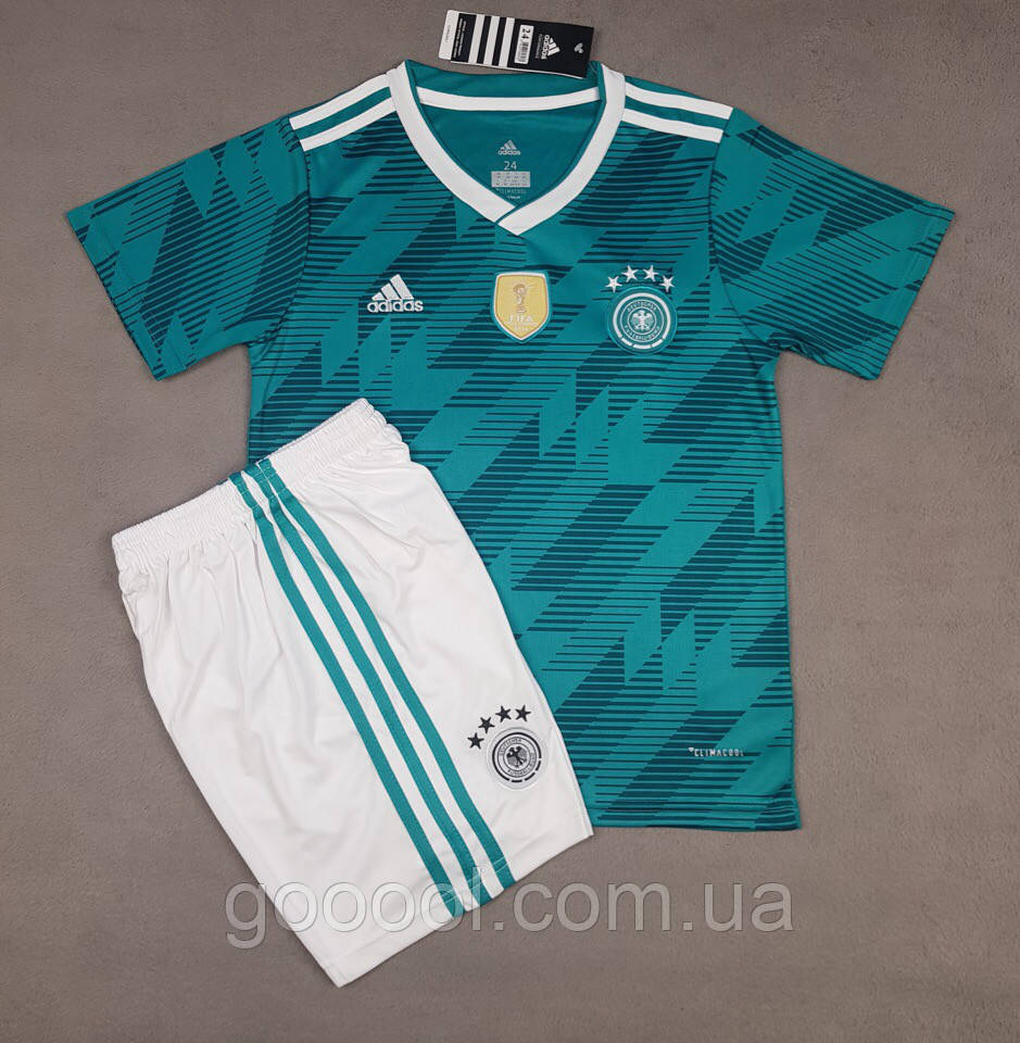 Детская футбольная форма сборной Германии выездная 2018-20