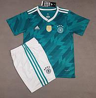 Детская футбольная форма сборной Германии выездная 2018-20, фото 1
