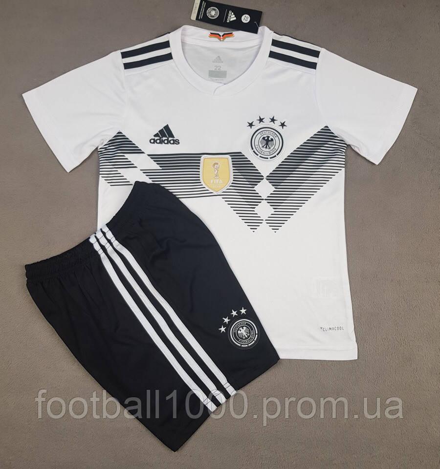 Детская футбольная форма сборной Германии домашняя 2018-20