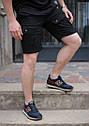 Шорты мужские карго черные бренд ТУР модель Brutto S, M, L, XL, XXL, фото 3
