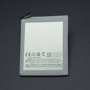 Аккумулятор meizu M1 note BT42, фото 2