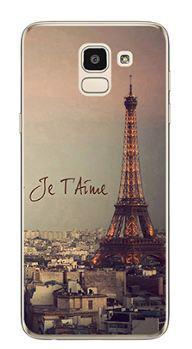 Чохол з картинкою (силікон) для Samsung J6 2018 Galaxy J600 Париж