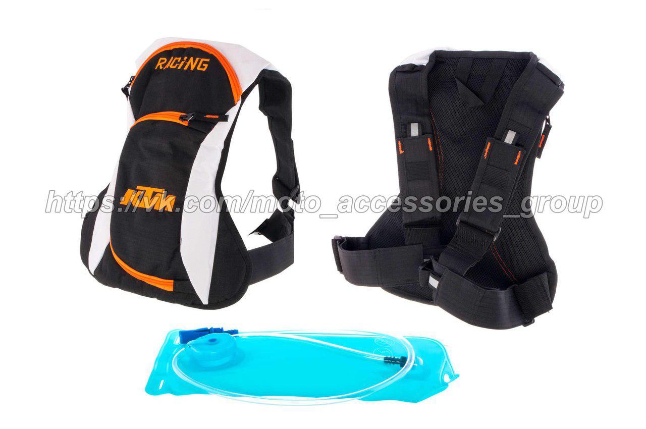 Мото рюкзак KTM с гидратором (питьевой системой)