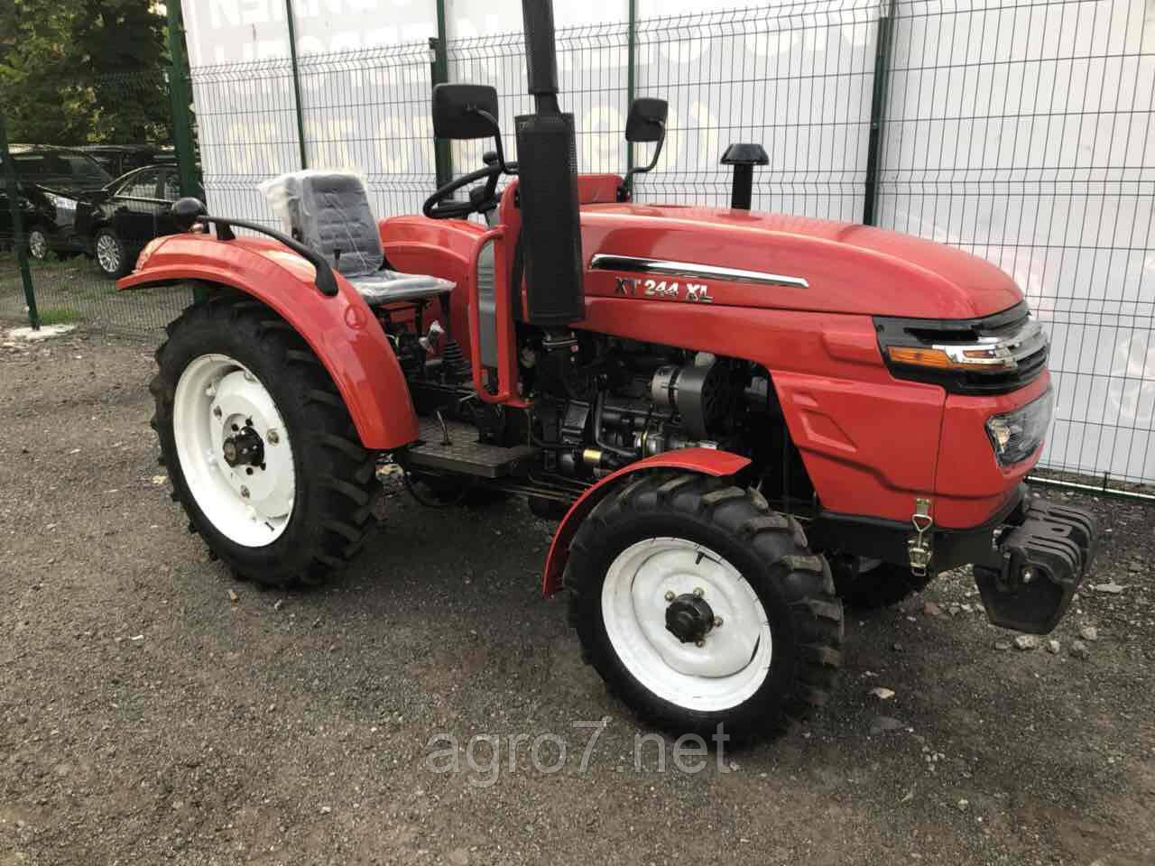 Трактор с доставкой Т244XL(24 л.с. ГУР, блокировка) (Xingtai 244)