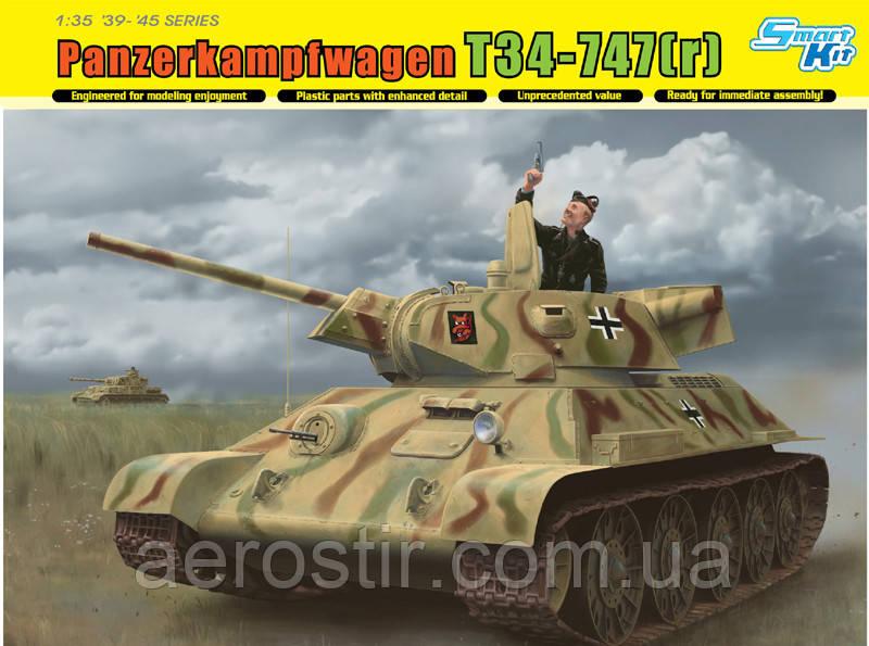 T-34-747(r) STZ Mod.1942 Late Production 1/35 Dragon 6449