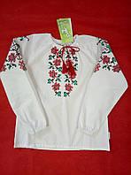 Блуза вышиванка для девочки Бемби