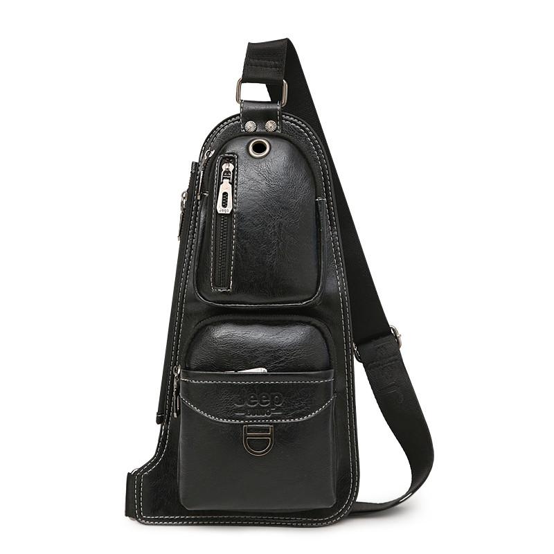 669ded7964f3 Мужская сумка-рюкзак через плечо Jeep J1941 black: продажа, цена в ...