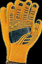 Перчатки защитные из флюоресцентной ткани, отделанные резинкой,FLOATEX-NEO PB Reis