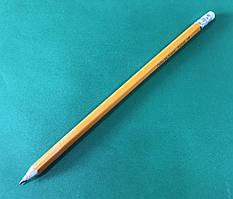 """Простой карандаш """"HB"""" твердо-мягкий с резинкой """"Delta"""""""