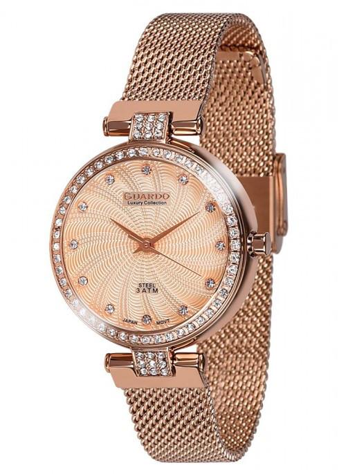 Жіночі наручні годинники Guardo S01979(m) RgRg