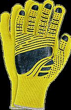 Перчатки защитные из флюоресцентной ткани, отделанные резинкой FLOATEX-NEO YB Reis