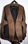 Мужской школьный черный рюкзак качества Люкс размер 30*47 см, фото 3