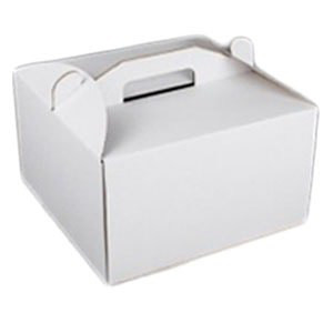 """Коробка самосборная для торта """"высокая""""30*30*25 Галетте- 00578"""