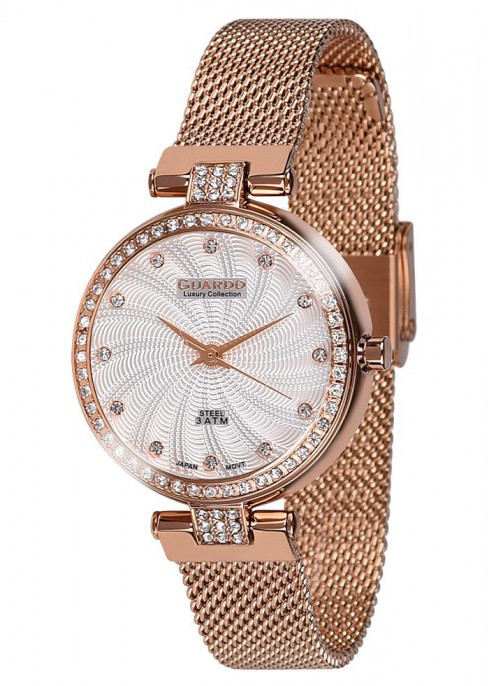 Женские наручные часы Guardo S01979(m) RgW