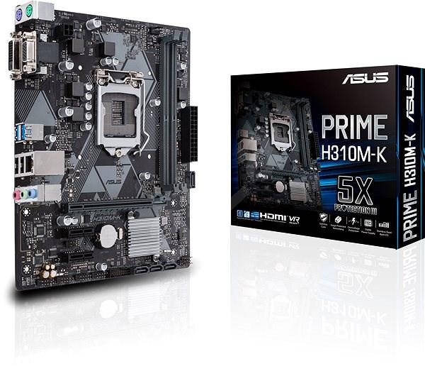 "Материнская плата Asus Prime H310M-K s.1151 DDR4 ""OVER-STOCK"""