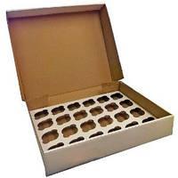 Коробка для маффинов 24шт. 49*33 Галетет-02107