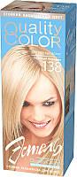 Гель-фарба Estel Quality Color (Vital) бежевий тон блондин 138