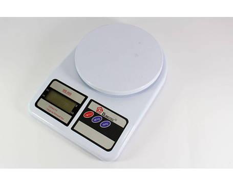 Весы кухонные электронные ACS MS-400  до 10kg Domotec, фото 2