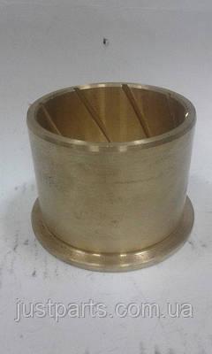 Втулка башмака балансира КамАЗ Р0 стандартная, сплав латунь, бронза 88х100х80 мм 5320-2918074-02