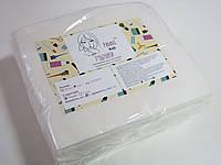 Салфетки одноразовые, сетка/гладкие, рулон/нарезные 20х20 (спанбонд)