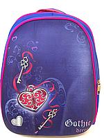 Рюкзак черепашка школьный на два отделения KIDIS