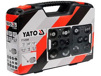 Набор торцевых ключей к масляному фильтру Yato YT-0594, фото 2