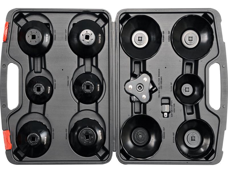 Набор торцевых ключей к масляному фильтру Yato YT-0594