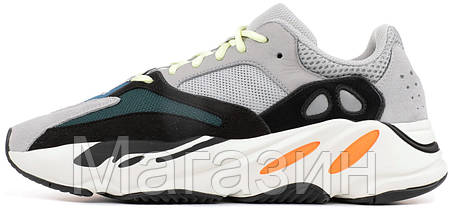 Женские кроссовки Adidas Yeezy Wave Runner 700 Grey Адидас Изи Буст 700 серые, фото 2