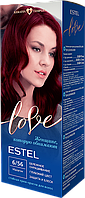 Стійка крем-фарба для волосся ESTEL LOVE тон 6/56 Махагон