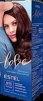 Стійка крем-фарба для волосся ESTEL LOVE тон 6/75 Полісандр
