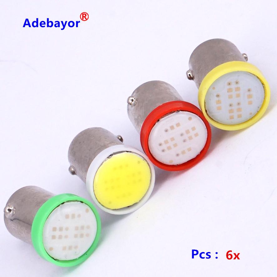 BA9S COB 6  Автомобильные светодиодные лампы в подсветку