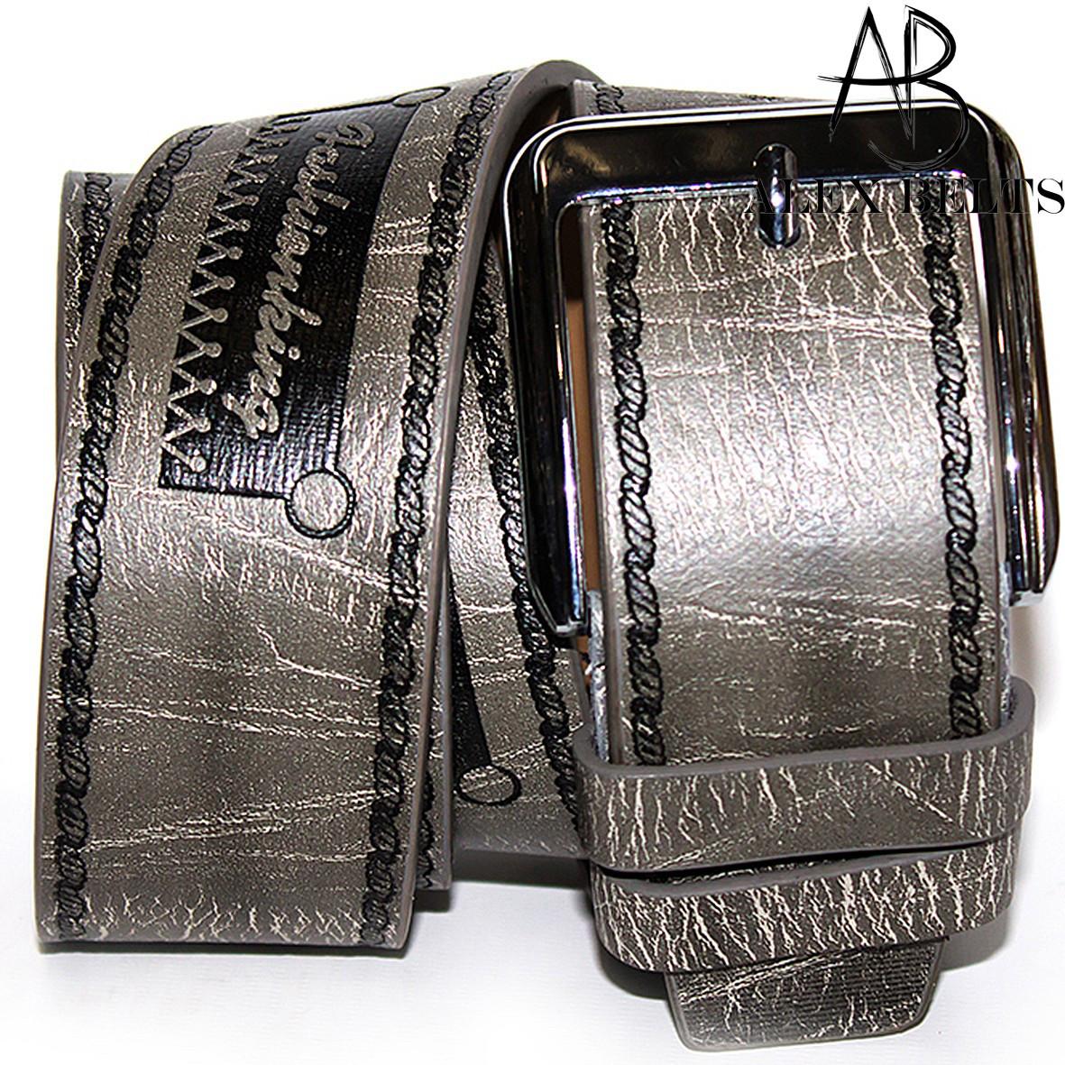 Ремень мужской джинсовый заменитель 45 мм - купить оптом в Одессе