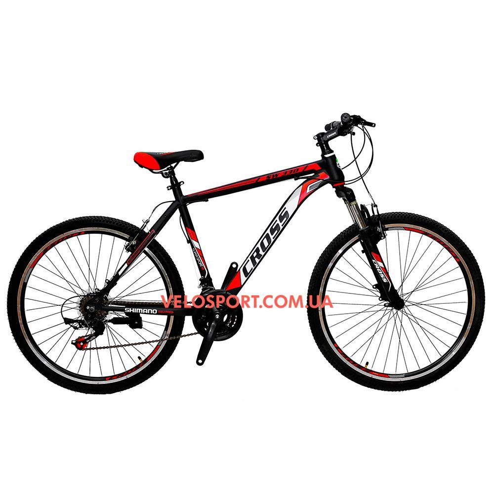 Горный велосипед Cross Atlas 26 дюймов черно-красный