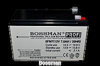 Аккумуляторы свинцово-кислотные BOSSMAN 12v 7 Aha