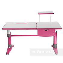 Комплект подростковая парта для школы Ballare Pink + ортопедическое кресло Bello II Pink FunDesk, фото 3