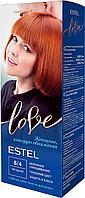 Стойкая крем-краска для волос ESTEL LOVE тон 8/4 Янтарный