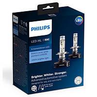Светодиодные лампы Philips H4 X-tremeUltinon LED +200% more vision (12901HPX2)