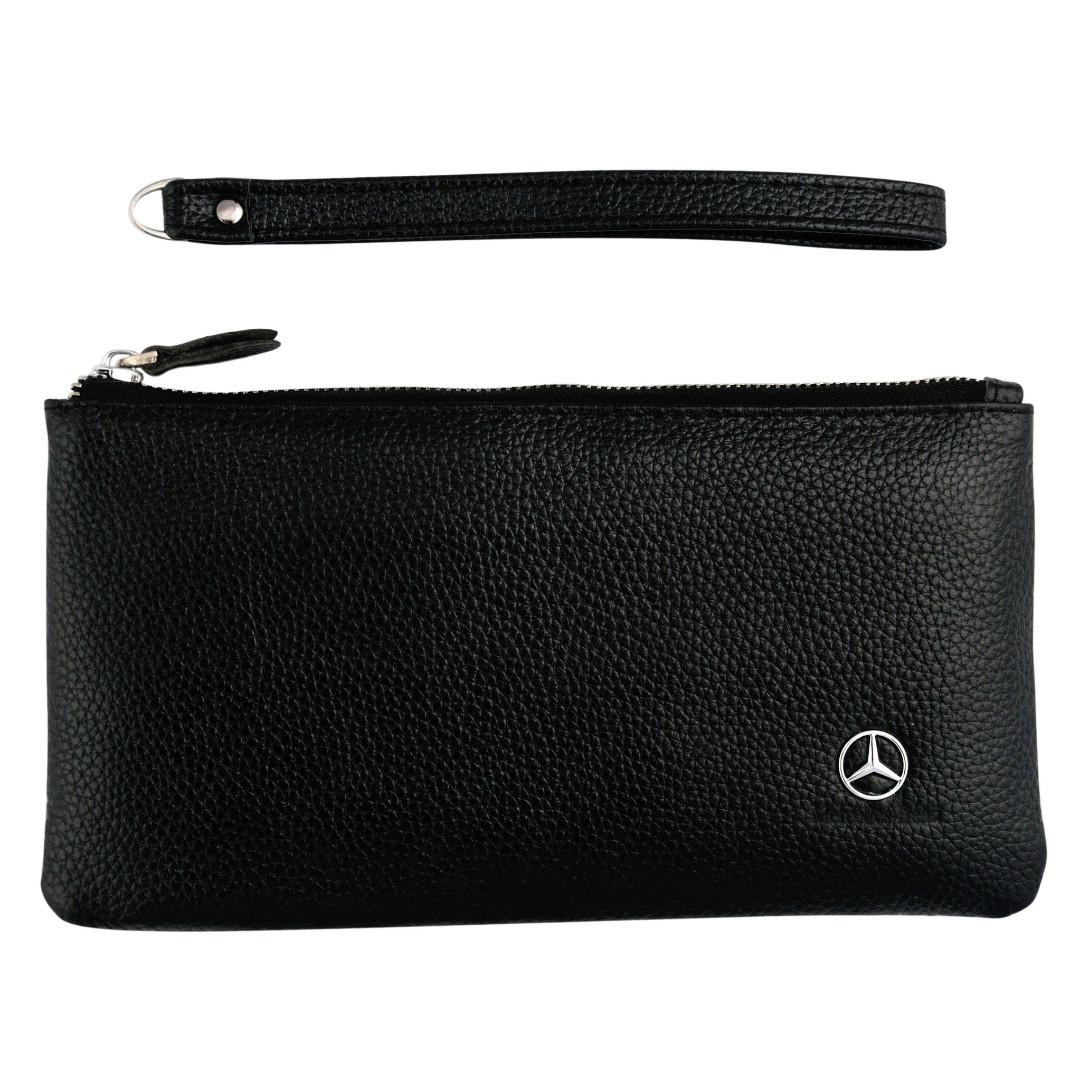 Сумка-клатч с логотипом автомобиля Mercedes (Мерседес)