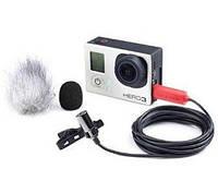 Микрофон для спортивной камеры Saramonic SR-GMX1 для Gopro Hero 4/3/3+ (SR-GMX1)