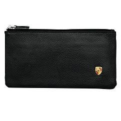 Cумка-клатч кожанная с логотипом Porsche (Порше)