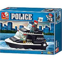 Конструктор M38-B1700 поліція, катер, фігурка, 98 елементів, в коробці, 24-19-4,5 см, фото 1