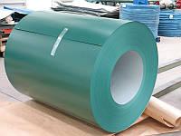 Гладкий оцинкованный лист с полимерным покрытием matt в бухтах