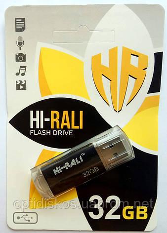 Флешка Hi-Rali 32GB Corsair series, черная, фото 2