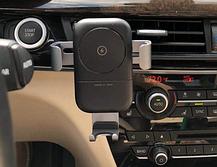 Держатель для телефона в авто с беспроводной зарядкой TORRAS, фото 3