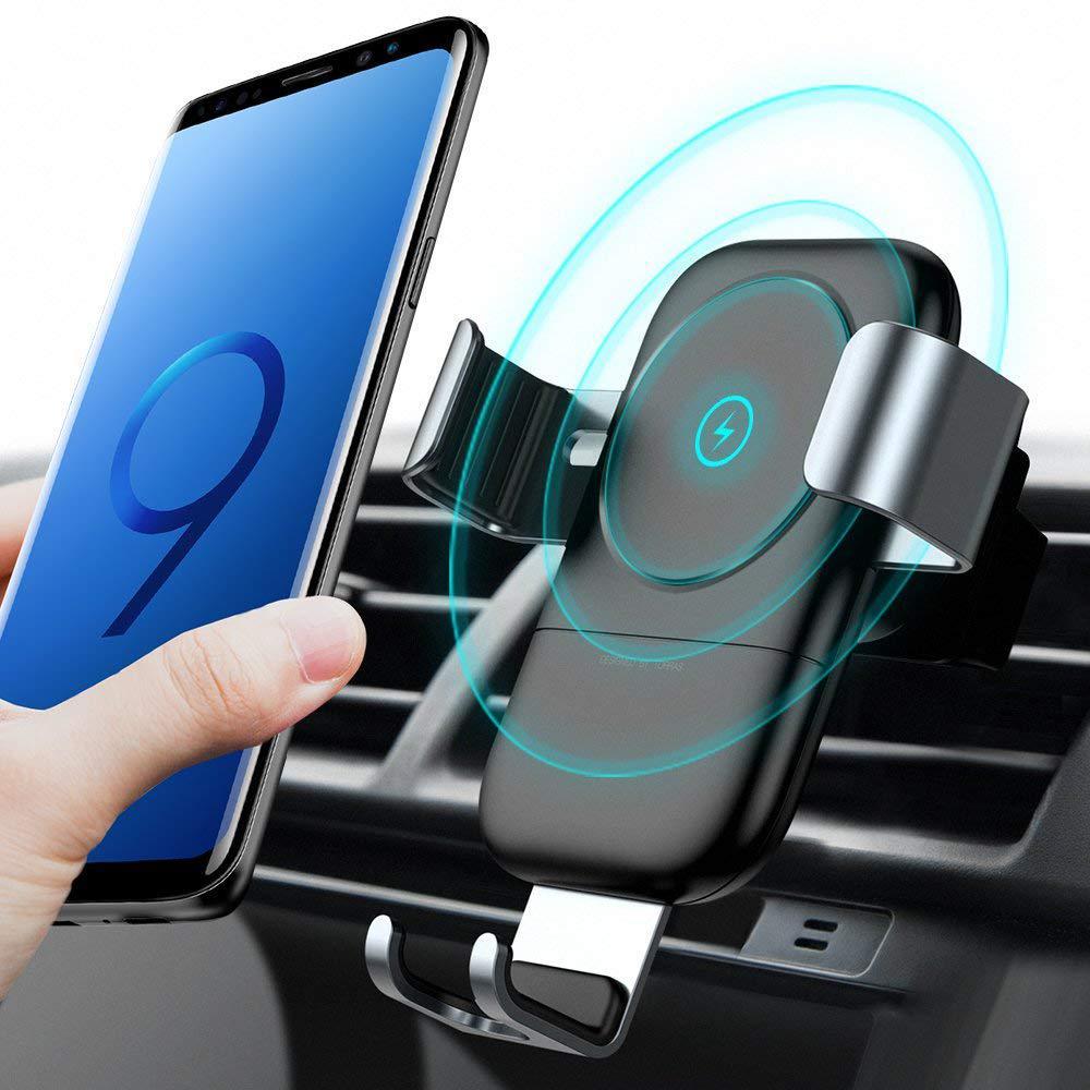 Держатель для телефона в авто с беспроводной зарядкой TORRAS