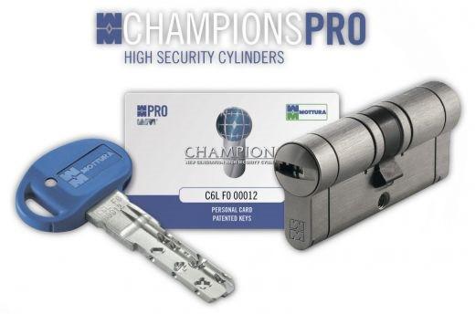 Mottura Champions PRO 67мм 31х36 ключ/ключ матовый хром (Италия)